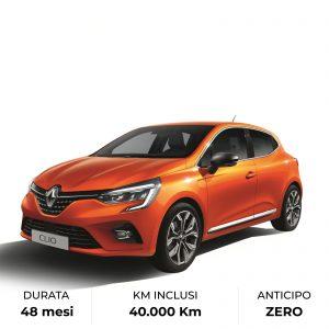 Noleggia Nuova Renault Clio con rata mensile - Farina Rent