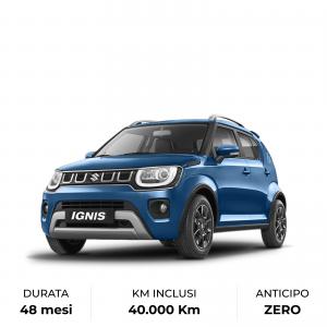 Scopri il noleggio a lungo termine di Suzuki Ignis